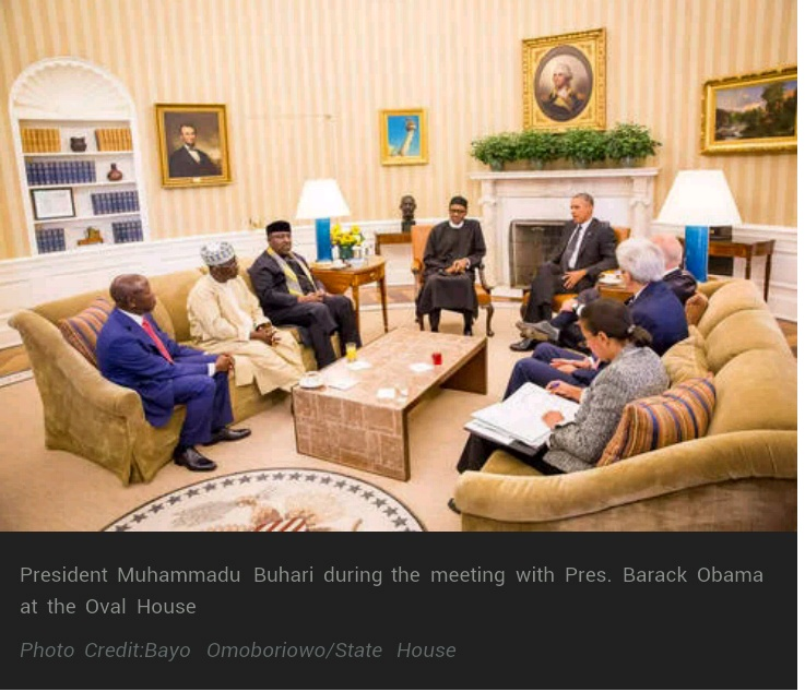 United States' pressure made Nigeria's transition peaceful: Buhari