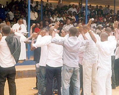 UNIZIK students (65) renounce cultism