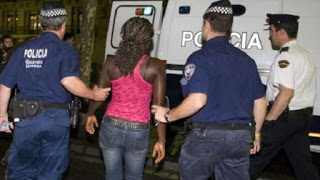 Nigerians arrested in Spain for controlling prostitutes with Juju
