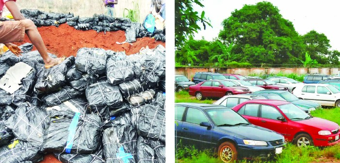 Customs Zone C seizes bulletproof vehicle, 100 others