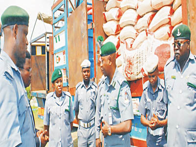 NCS seizes N197m contraband, arrests 30 suspects in Owerri
