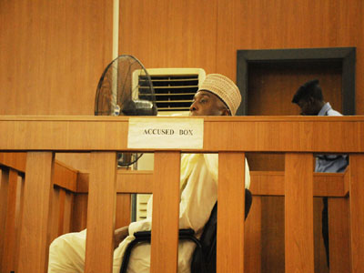 Saraki docked, pleads 'not guilty'