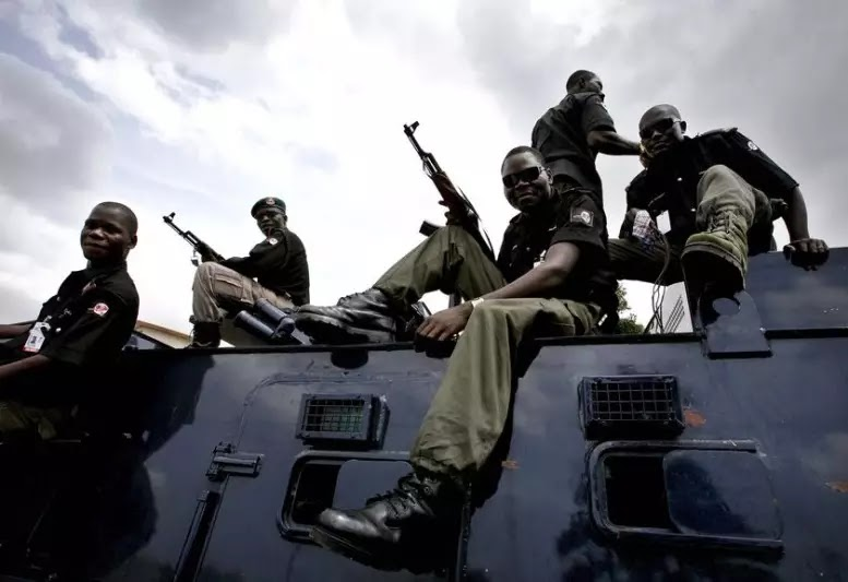 Assasins trailed and caught red-handed by Nigerian Police