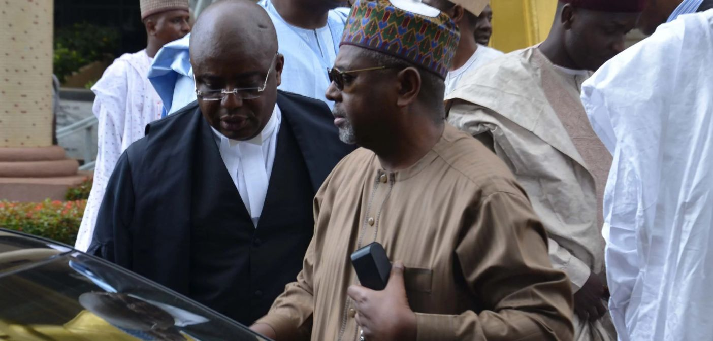Court rejects FG's request to compel Dasuki's appearance in court