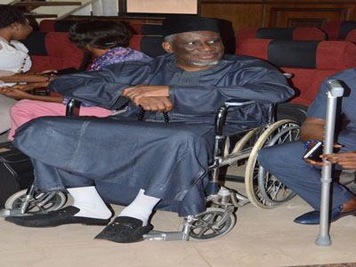 Court restricts Bello to hospital