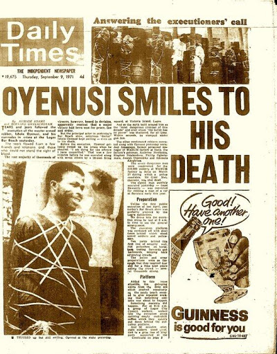 Profiling Nigeria's Notorious Armed Robber Of The 70's: ('Doctor' Ishola Oyenusi)