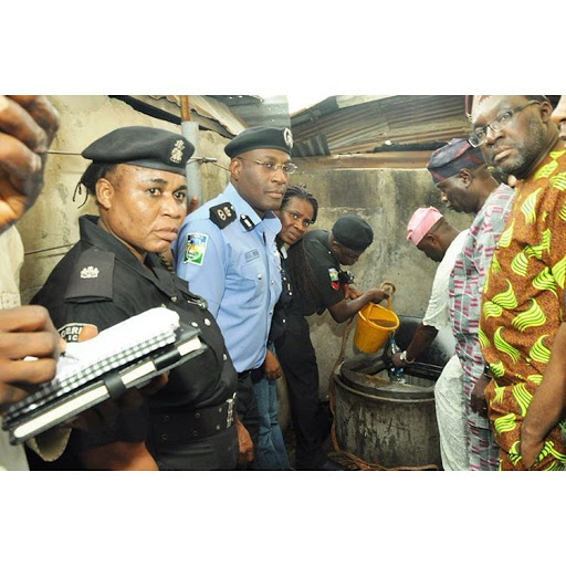 Lagos shuts 12 houses as police uncover illegal oil wells