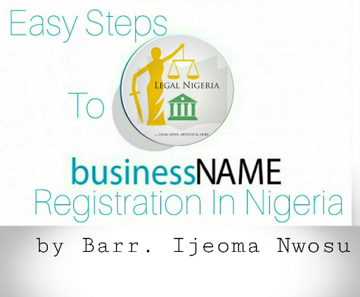 Easy Steps To Business Name Registration In Nigeria