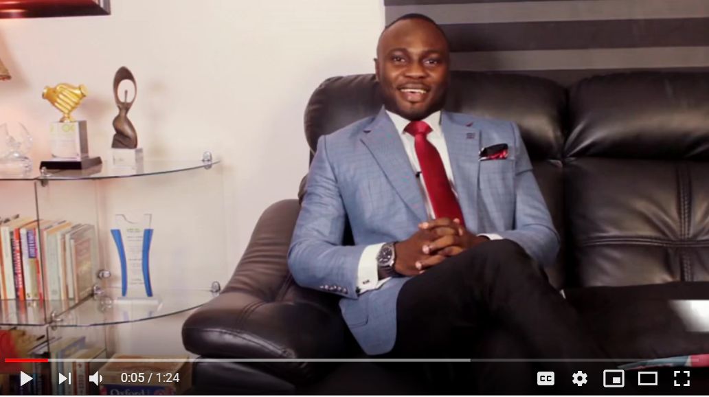 Developing a Vision and Mission for law business – Charles Ajiboye, FICMC