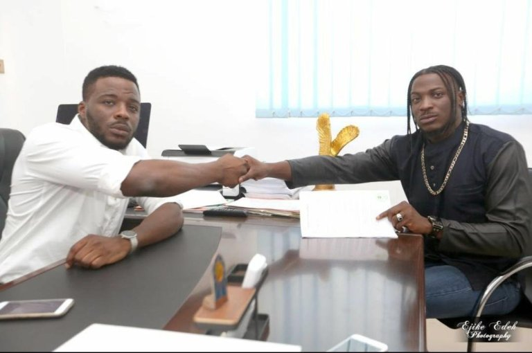 Nigerians react to Peruzzi's breach of contract with former label