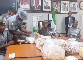Customs intercepts N2.9b cash at Lagos airport