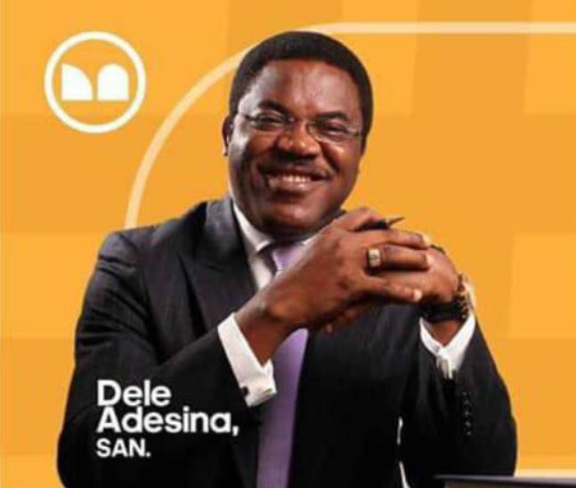 Dele Adesina, SAN felicitates with NBA Lagos
