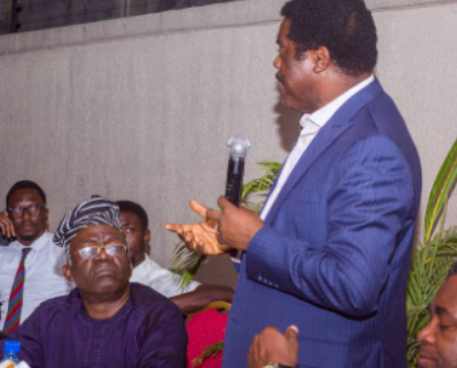 PICTURE GALLERY: Dele Adesina, SAN as Special Guest at YLF NBA Ikeja' Meet and Greet