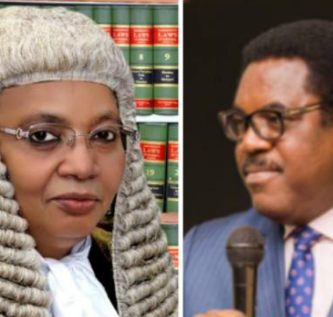 Dele Adesina SAN celebrates Honourable Justice Zainab Adamu Bulkachuwa OFR, CFR, President of the Court of Appeal.