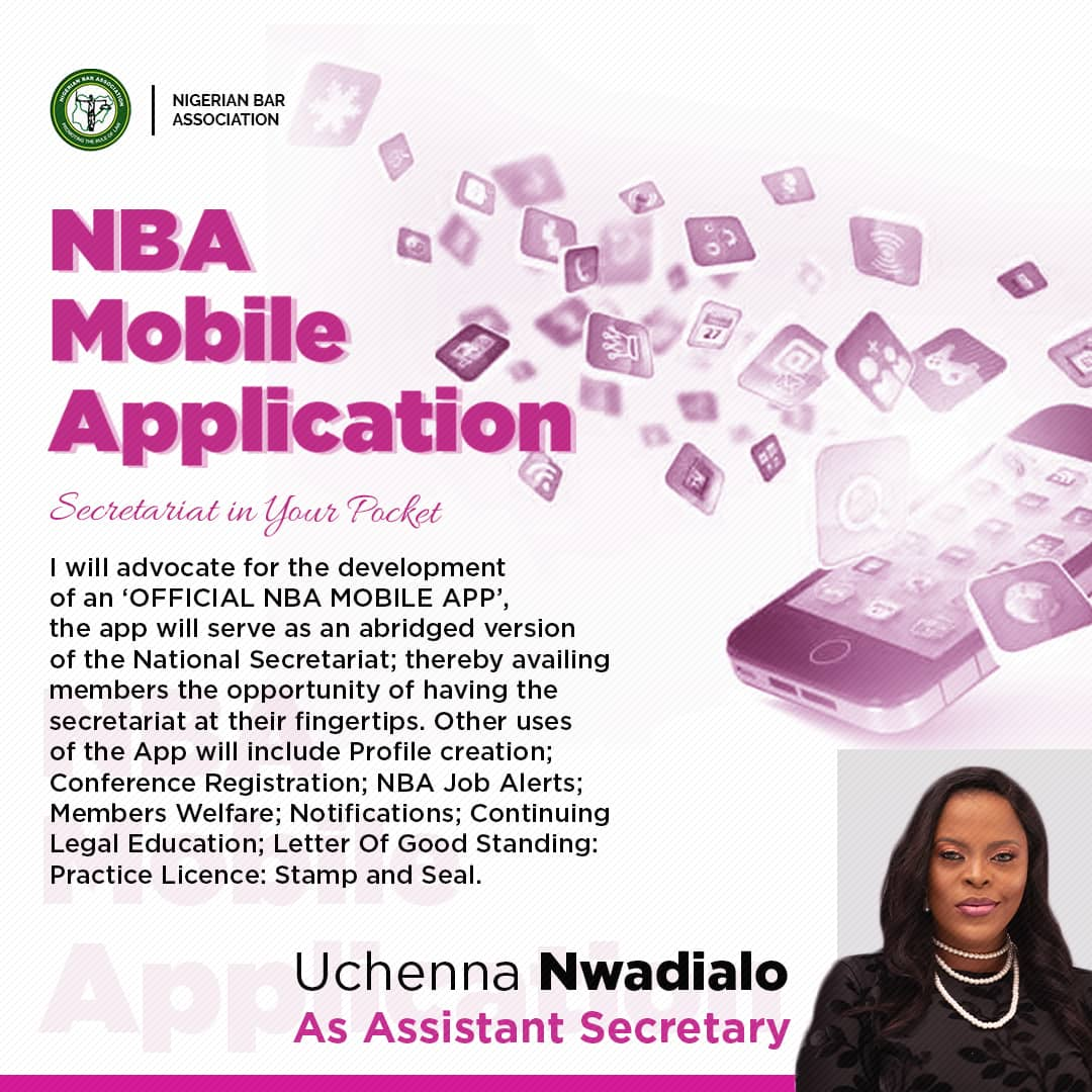 UCHENNA AND THE OFFICE OF ASSISTANT SECRETARY – SETTING UP NBA MOBILE APPLICATION