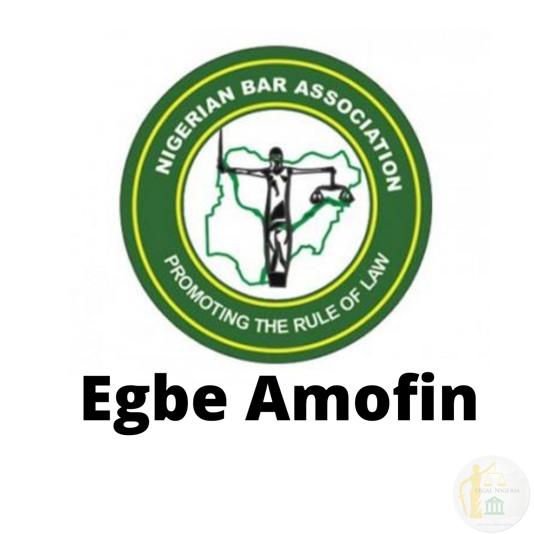 Egbe Amofin Rejects NBA 2020 Election Results, Calls For Thorough Investigation and Fresh Elections