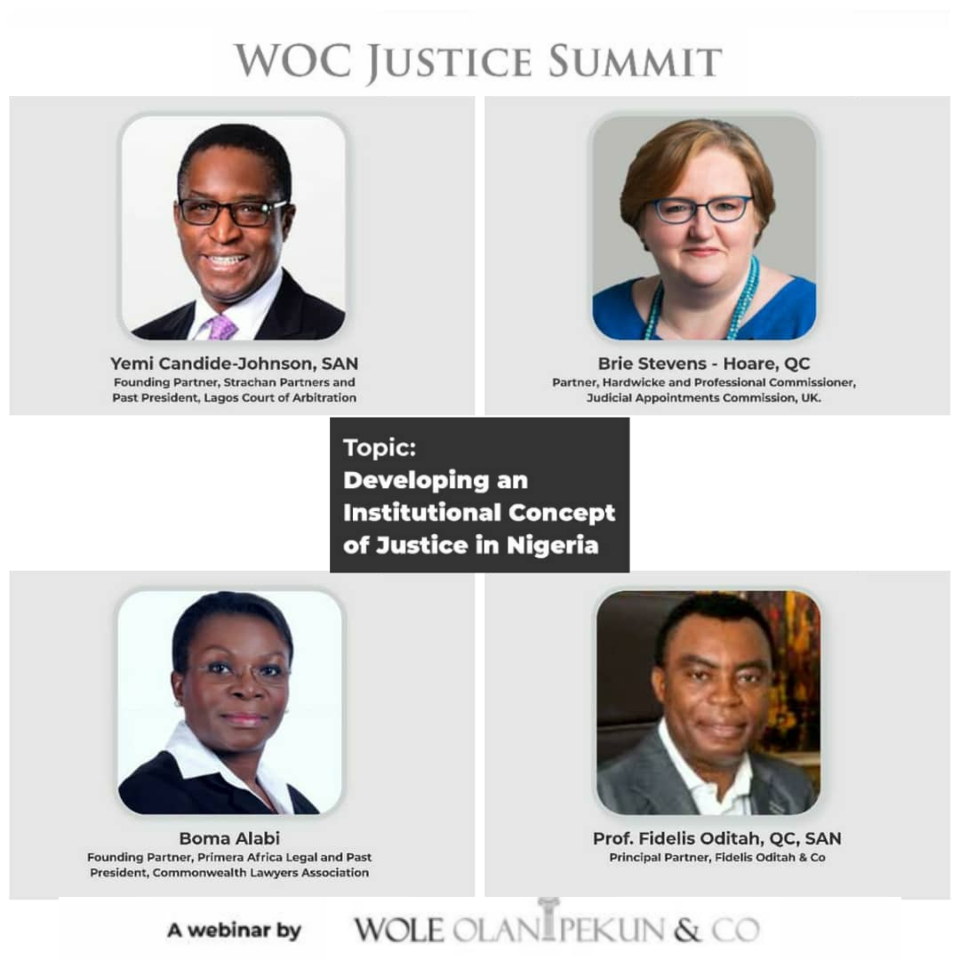 WOCJusticeSummit And The Key Factors Affecting Justice Delivery In Nigeria | Register Now