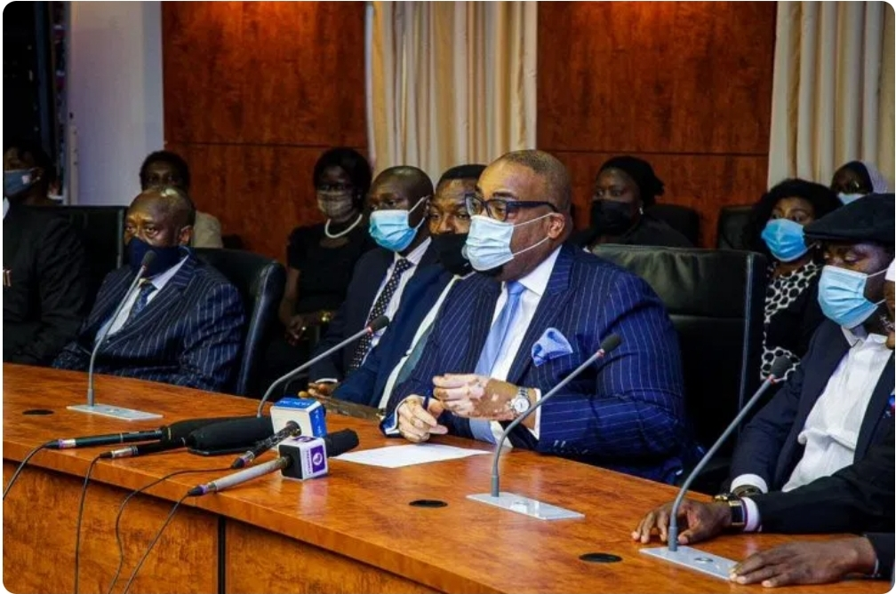 NBA President One Day Working visit to Kaduna State, Pays Courtesy Call On Attorney General, Chief Judge And Executive Governor of Kaduna State; Holds Interactive Session With Members of Kaduna Bar