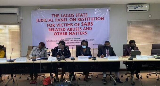 #EndSARS: Lagos panel asks petitioners to file all evidence ahead of hearing to 'save time'