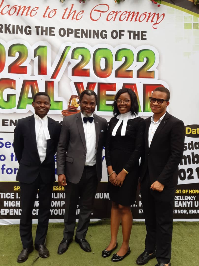 Adesina Adegbite joins Enugu Judiciary and the Bar in Enugu State to Commemorate the New Legal Year.